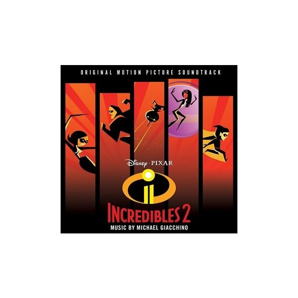 MichaelGiacchinoIncredibles2CD