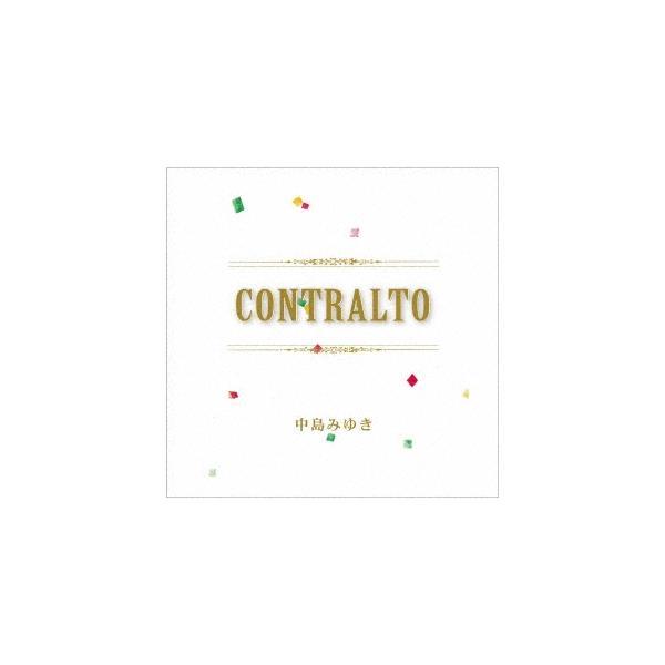 中島みゆきCONTRALTO<完全生産 盤>LP