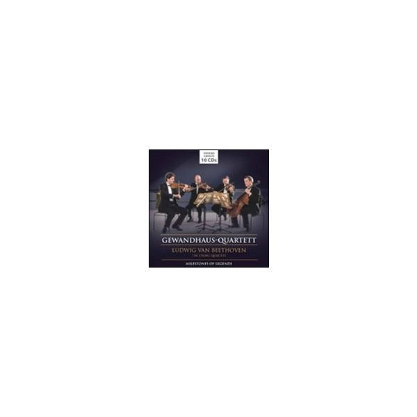 ライプツィヒ・ゲヴァントハウス弦楽四重奏団 Milestones of Legends - ベートーヴェン: 弦楽四重奏曲全集 CD