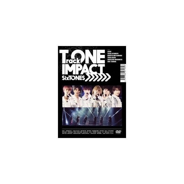 SixTONES TrackONE -IMPACT- [2DVD+フォトブック]<初回盤> DVD