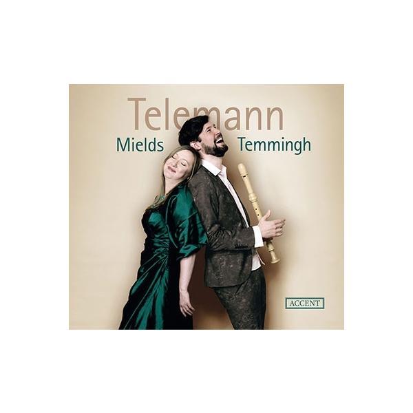 ドロテー・ミールズ テレマン: ソプラノとリコーダーのための作品集 CD