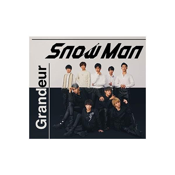 Snow Man Grandeur [CD+DVD]<初回盤A> 12cmCD Single ※特典ありの画像