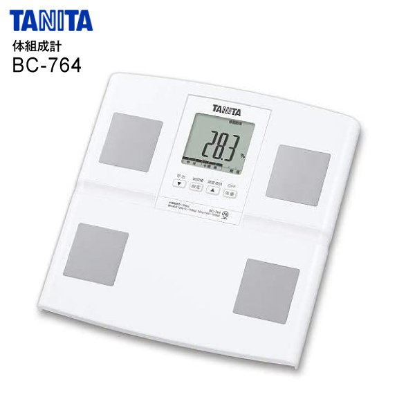 BC764WHタニタ体組成計体重計体脂肪計内臓脂肪体脂肪率筋肉量デジタルTANITAホワイトBC-764-WH