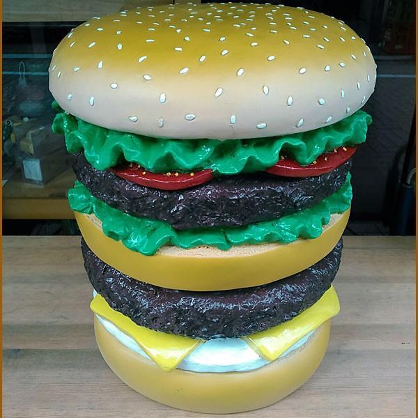 イースね ハンバーガーチェア★ハンバーガー型 スツール|toy-burger