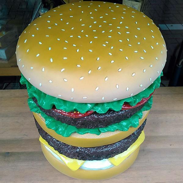 イースね ハンバーガーチェア★ハンバーガー型 スツール|toy-burger|02