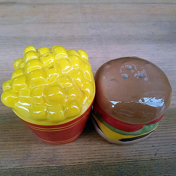 Hamburger&Potato Salt&Pepper Shakers★ハンバーガー&ポテト ソルト&ペッパー|toy-burger|04