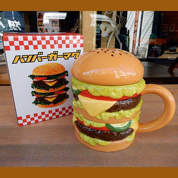 Hamburger Mug★ハンバーガーマグ|toy-burger