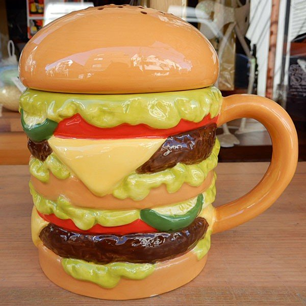 Hamburger Mug★ハンバーガーマグ|toy-burger|02