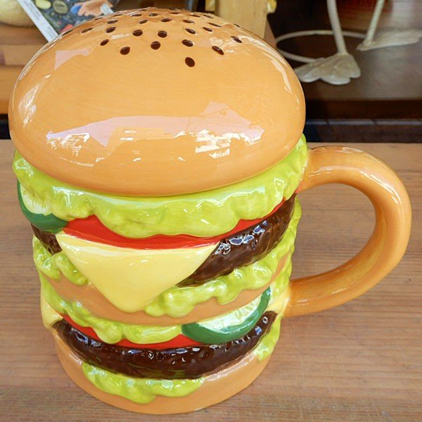 Hamburger Mug★ハンバーガーマグ|toy-burger|03