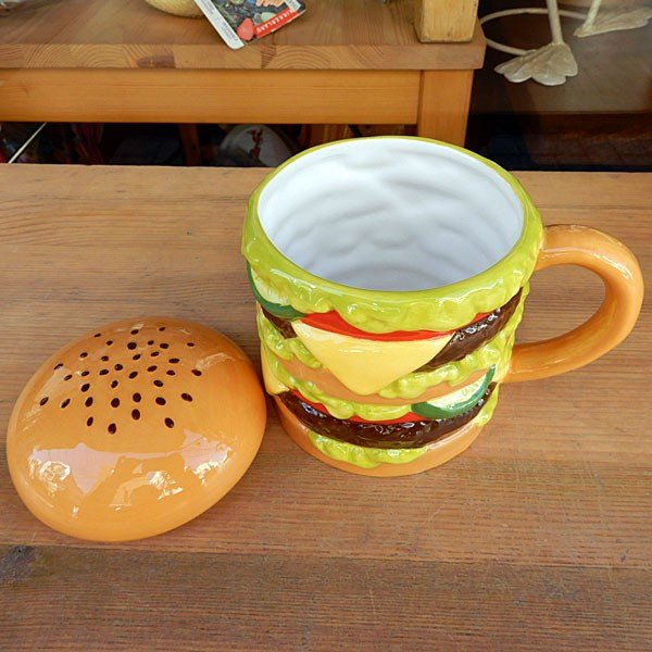 Hamburger Mug★ハンバーガーマグ|toy-burger|04