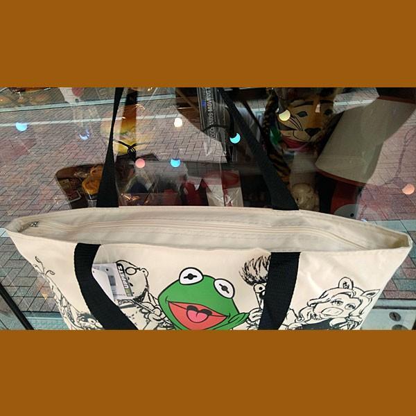 カーミット★ファスナー付き ビッグ トートバッグ|toy-burger|03