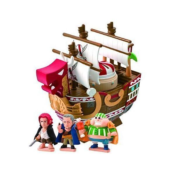 キャラバンク 海賊船シリーズ シャンクスのレッド・フォース号  | 貯金箱 おもちゃ|toy-manoa