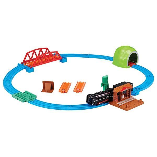 プラレール レールでアクション!なるぞ!ひかるぞ!C62 蒸気機関車セット 60周年記念レール同梱版|toy-manoa
