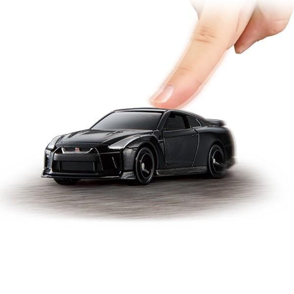 トミカ トミカ4D 02 日産 GT-R メテオフレーク ブラックパール