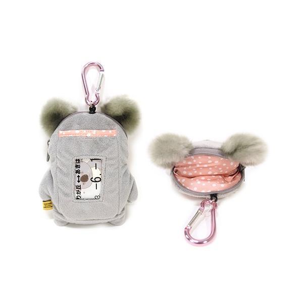 リールコード付きパスポーチ『コアラさん』/【定形外郵便可】|toy-piece|02
