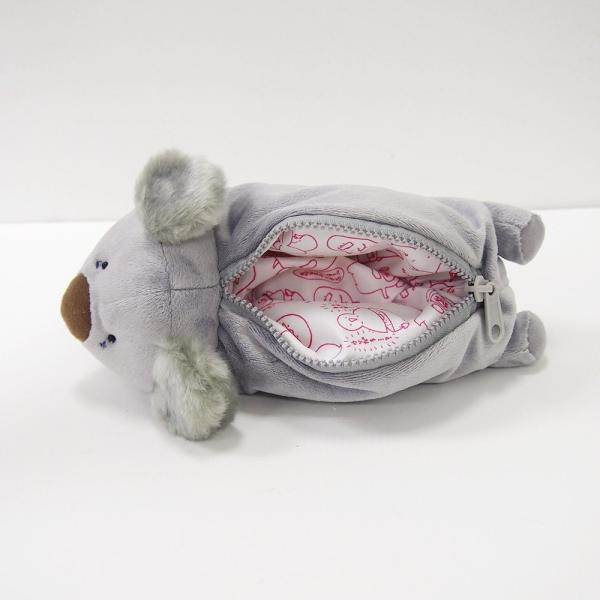 寝そべり型BIGペンケース『コアラさん』 /【定形外郵便可】|toy-piece|05