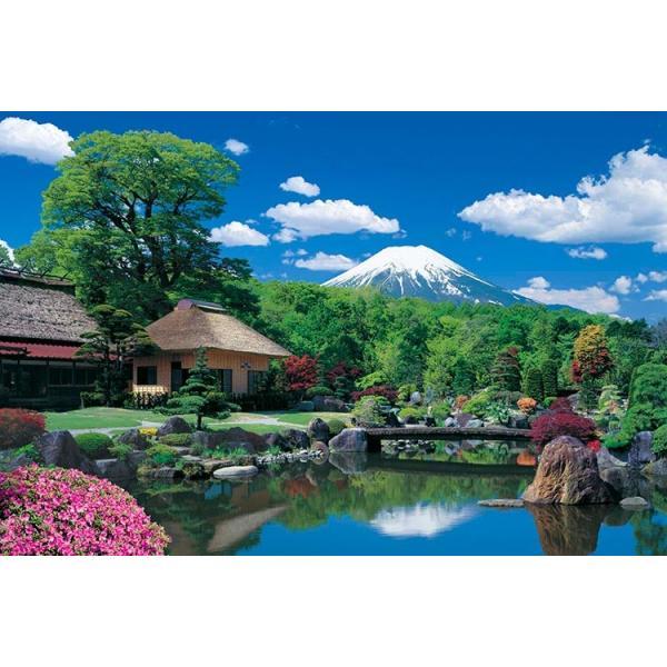 ジグソーパズル EPO-10-785 世界遺産 富士山と忍野村ー山梨 1000ピース