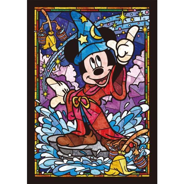 ステンドアートジグソーパズル TEN-DSG266-747 ディズニー ミッキーマウス ステンドグラス(ミッキー) 266ピース