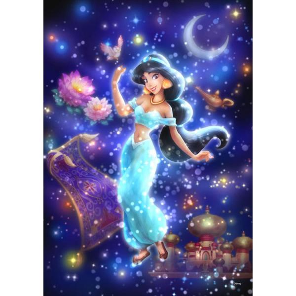 ステンドアートジグソーパズル TEN-DSG266-964 ディズニー 眩い自由への願い (ジャスミン)(アラジン) 266ピース