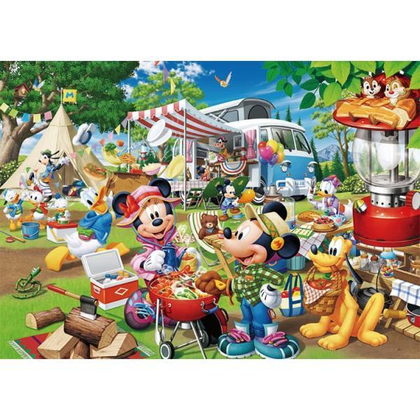 ジグソーパズル TEN-D300-013 ディズニー みんなでオートキャンプ!(ミッキー) 300ピース