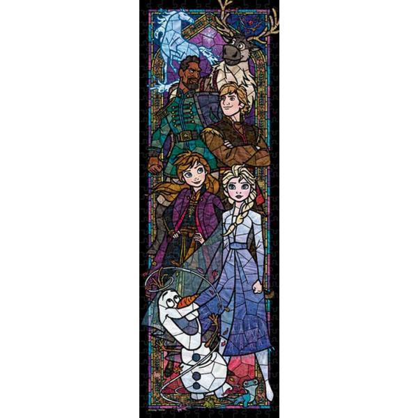 ステンドアートジグソーパズル TEN-DSG456-739 ディズニー アナと雪の女王2 ステンドグラス  (アナと雪の女王) 456ピース