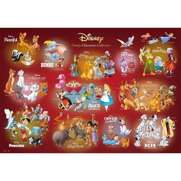 ジグソーパズル TEN-D1000-066 ディズニー Disney  Characters  Collection (オールキャラクター) 1000ピース