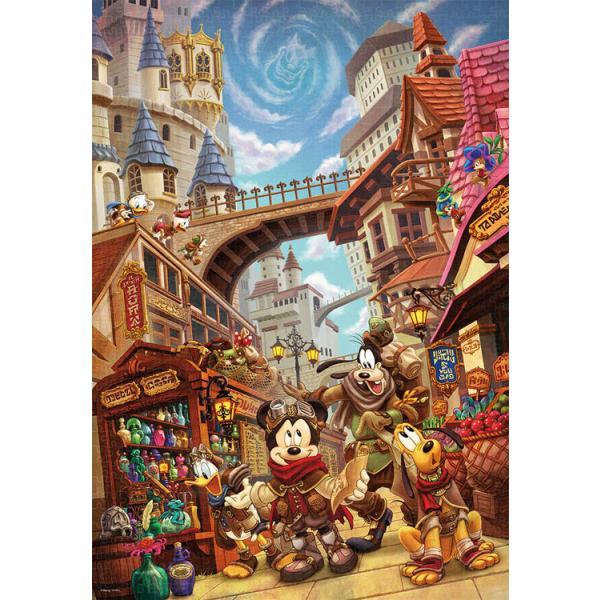 ジグソーパズル TEN-D1000-084 ディズニー アナザー・ワールド~冒険の始まり~(ミッキー&フレンズ) 1000ピース