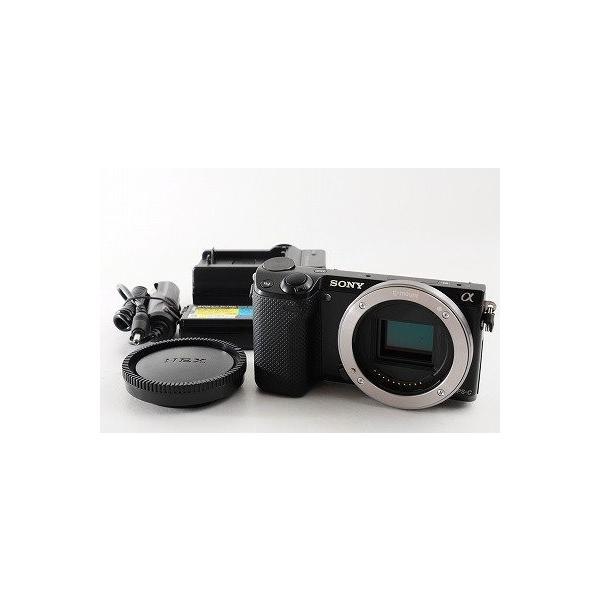 ソニー ミラーレス一眼カメラ α NEX-5Rボディ ブラック NEX-5R/B