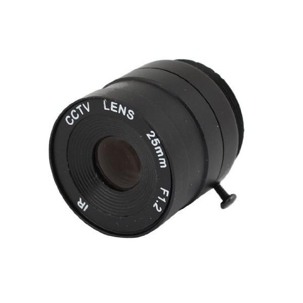 uxcell 6mm IR CCT??Vカメラレンズ ボックスカメラレンズ 25mmの焦点距離IRボードレンズ F1.2