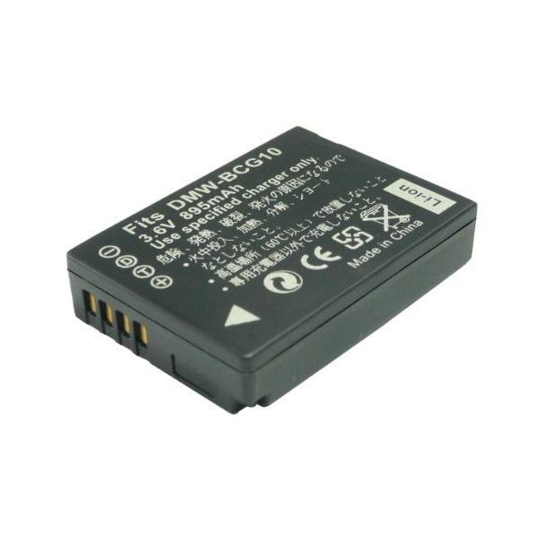 ≪ パナソニック Panasonic ≫ DMW - BCG10 互換 バッテリー ルミックス DMC-TZ30 対応