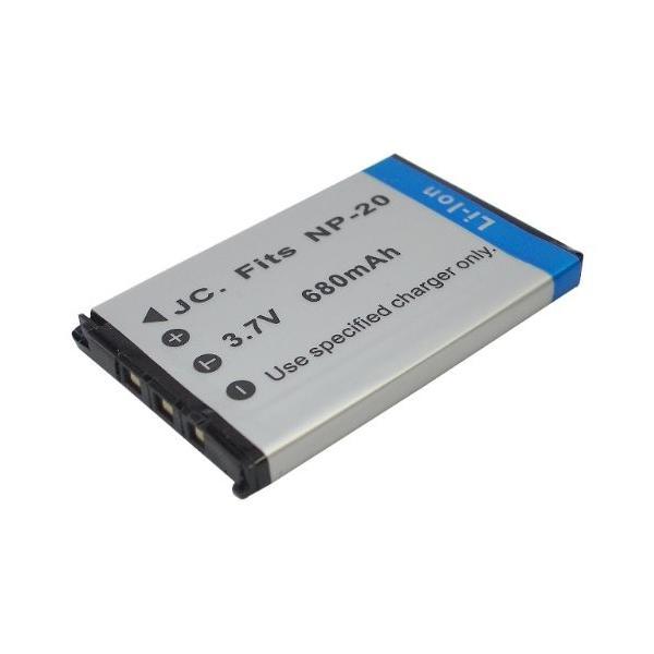 【JC】 CASIO/カシオ NP-20 互換バッテリー EX-Z3 EZ-Z4 対応