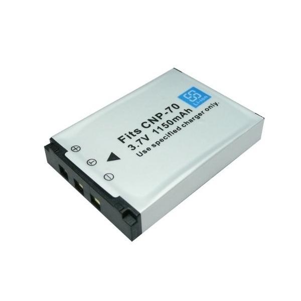 ≪ カシオ ≫ NP-70 互換 バッテリー EXILIM EX-Z250 対応