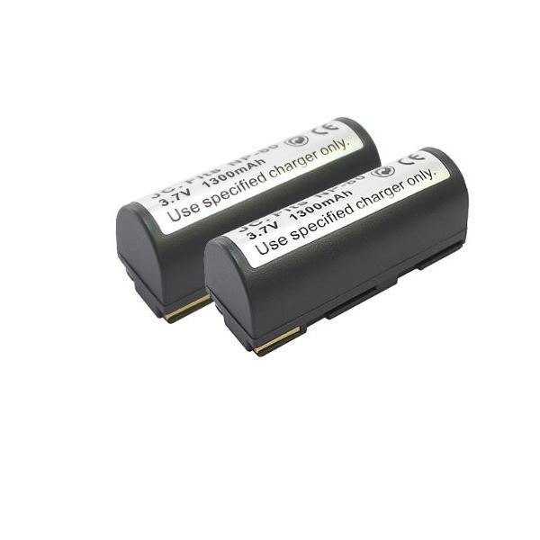 【JC】 2個セット 富士フィルム/FUJIFILM NP-80 互換バッテリー FinePix 4800Z MX-2900 対応