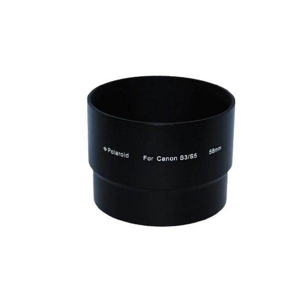 ポラロイド Canon Powershot S3 IS, S5 IS, (LA-DC20同等製品) ...ニウムレンズ フィルターアダプタチューブ