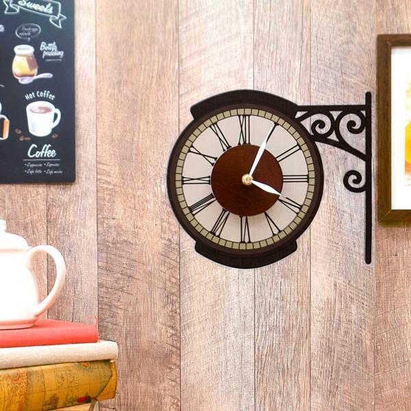 ウォールクロック ステッカー カフェ オシャレ STREET CLOCK 95352 toyocase-store 02
