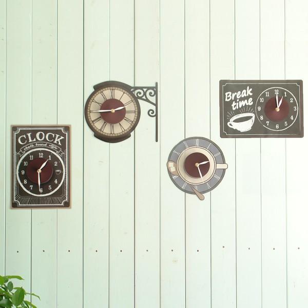 ウォールクロック ステッカー カフェ オシャレ STREET CLOCK 95352 toyocase-store 06