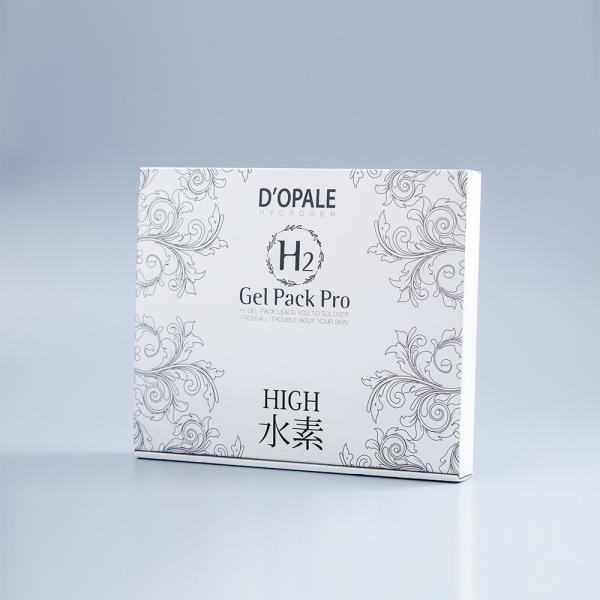 D'OPALE ドパール 【H2Gel Pack Pro】 使用回数6回分 高濃度水素パック 日本製 dopale|toyooka-beauty-store|12