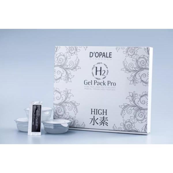 D'OPALE ドパール 【H2Gel Pack Pro】 使用回数6回分 高濃度水素パック 日本製 dopale|toyooka-beauty-store|16