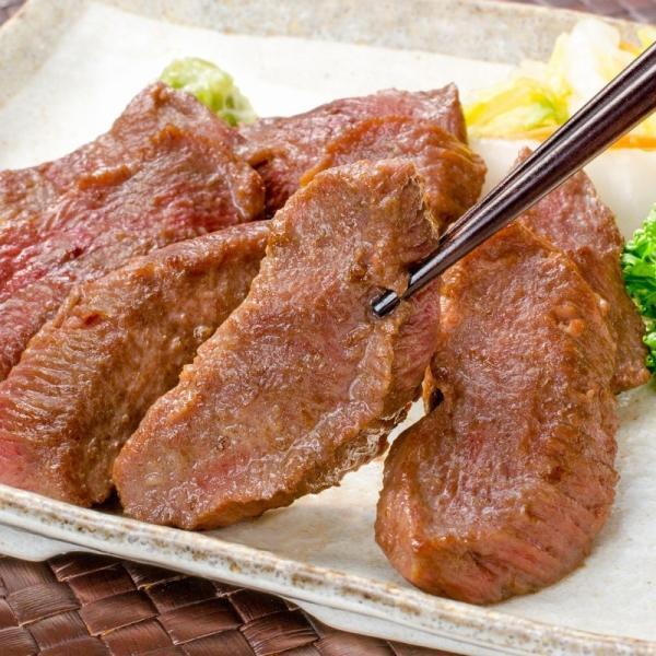 牛たん 牛タン 厚切り 合計 2kg 1kg×2パック 業務用 カット済み 厚切り牛タン たん塩 仙台名物 焼肉 鉄板焼き ステーキ BBQ ギフト|toyosushijou|05