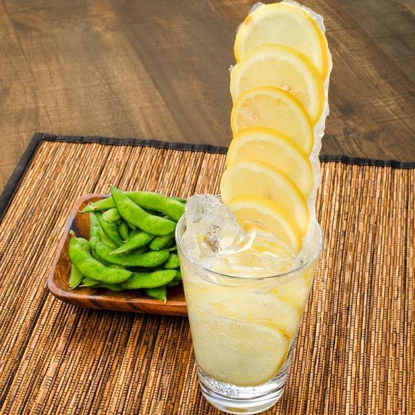 冷凍レモン スライス 500g ×1パック 輪切り カット済み レモン スライス レモンサワー レモネード フルーツジュース はちみつレモン レモンティー|toyosushijou|10