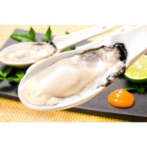 生牡蠣 1kg 生食用カキ(冷凍時1kg 解凍後850g 冷凍むき身牡蠣 生食用)|toyosushijou|07