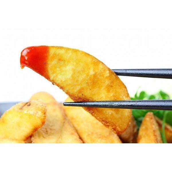 皮付きフライドポテト 1kg 業務用 冷凍食品|toyosushijou|03