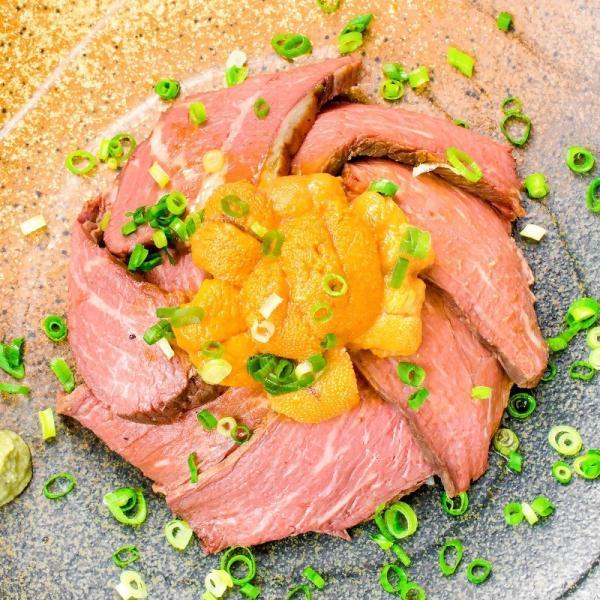 訳あり 高級 ローストビーフ 約400g〜500g前後 ブロック肉 霜降り モモ肉 トモサンカクのデパ地下仕様ローストビーフ|toyosushijou|10