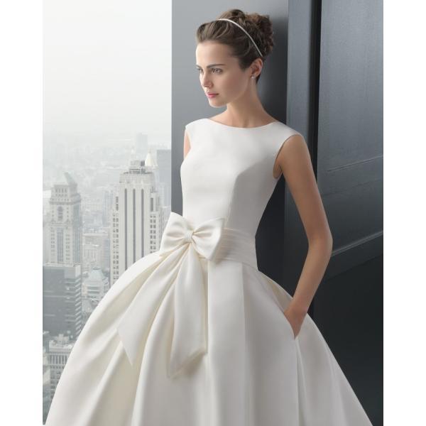 74b7159d06450 ウエディングドレス 安い 花嫁 二次会 ウェディングドレス 結婚式 披露宴 ブライダル ロングドレス エンパイア シンプルドレス ...