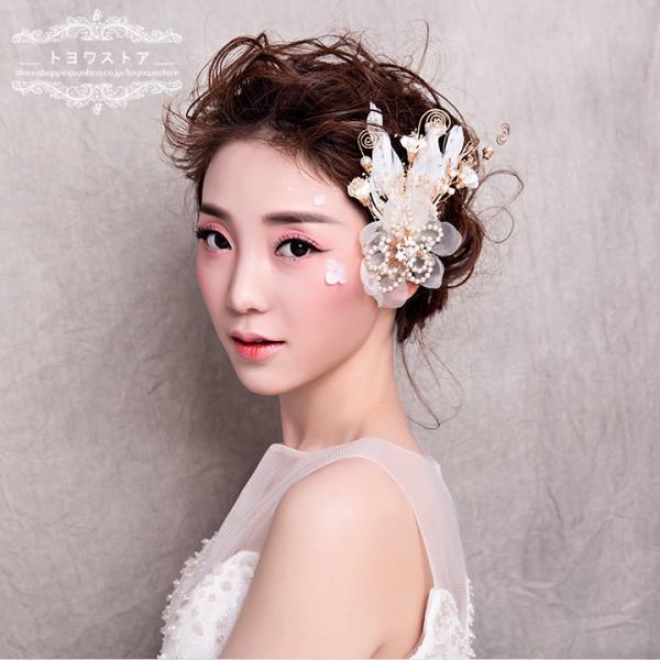 c2a5837acab97 ... ティアラ ウェディング クラウン 安い ヘッドドレス 花 ブライダル 髪飾り 花嫁 結婚式 ヘアアクセサリー パーティー