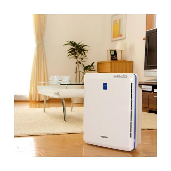 アイリスオーヤマ 空気清浄機 花粉 PM2.5 除去 ~14畳 PMAC-100|toys-ys|02