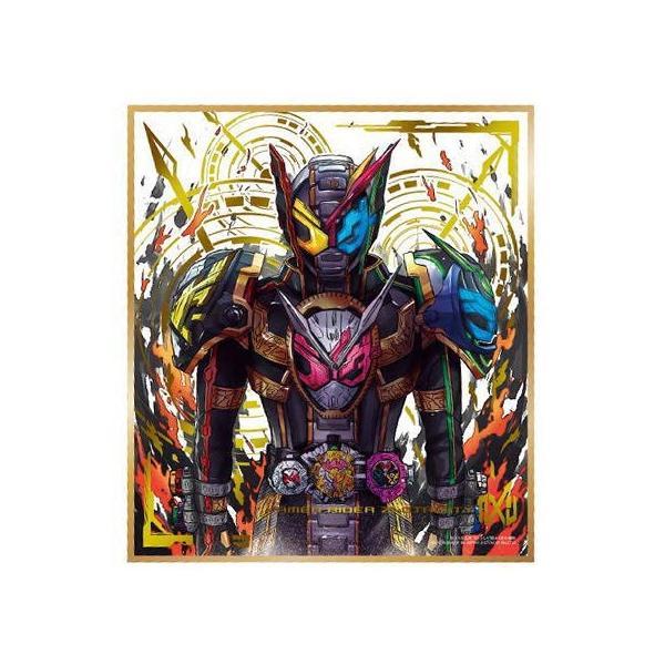 RoomClip商品情報 - 仮面ライダー 色紙ART3 [33.仮面ライダージオウトリニティ(金色箔押し)]【ネコポス配送対応】