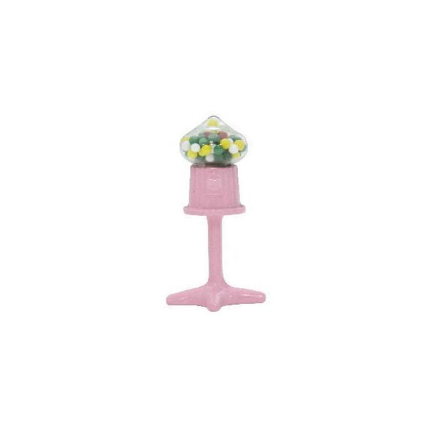 ミニチュア雑貨 ピンクのガムボールマシーン [B(T-33)] [m-s]【ネコポス配送対応】【C】