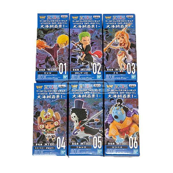 ワンピース ワールドコレクタブルフィギュア 新シリーズ1(仮) 全6種セット 2021年10月仮予約