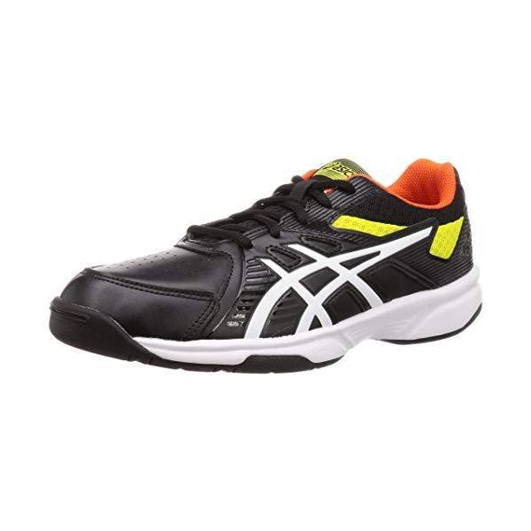 [アシックス] テニスシューズ COURT SLIDE OC オムニ/クレーコート メンズ ブラック/サワーユズ 27.5